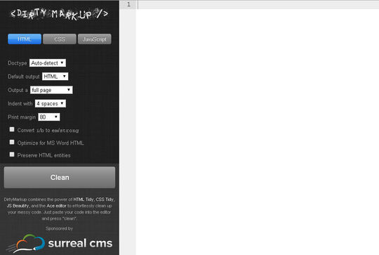 40 Excellent Online Real-Time HTML Editors 5
