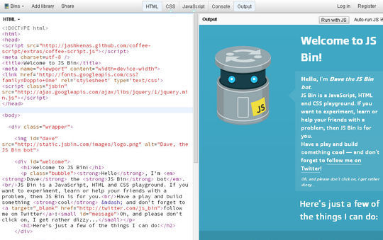 40 Excellent Online Real-Time HTML Editors 29