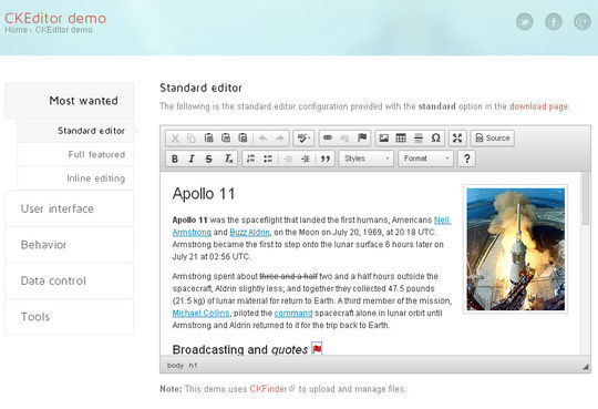 40 Excellent Online Real-Time HTML Editors 3