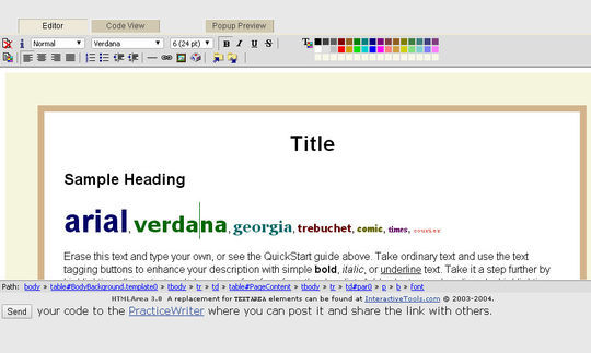 40 Excellent Online Real-Time HTML Editors 39