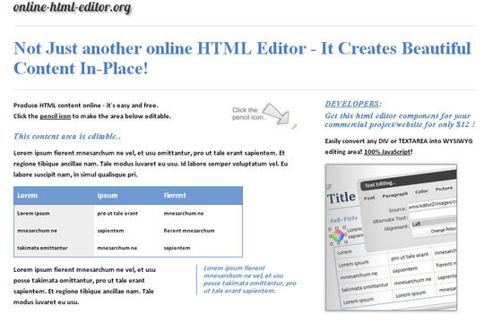 40 Excellent Online Real-Time HTML Editors 40