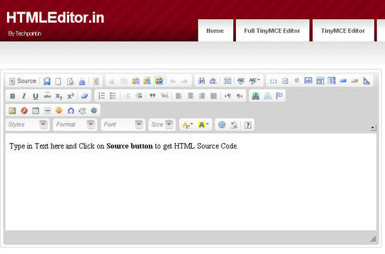 40 Excellent Online Real-Time HTML Editors 9
