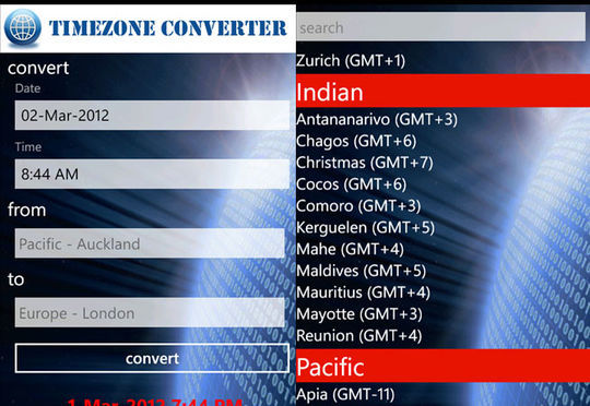 9 Useful Time Zone Converters For Computer & Mobile Users 8
