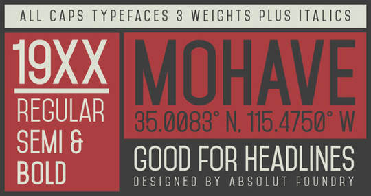 20 Excellent Yet Free Fonts For Designers 13