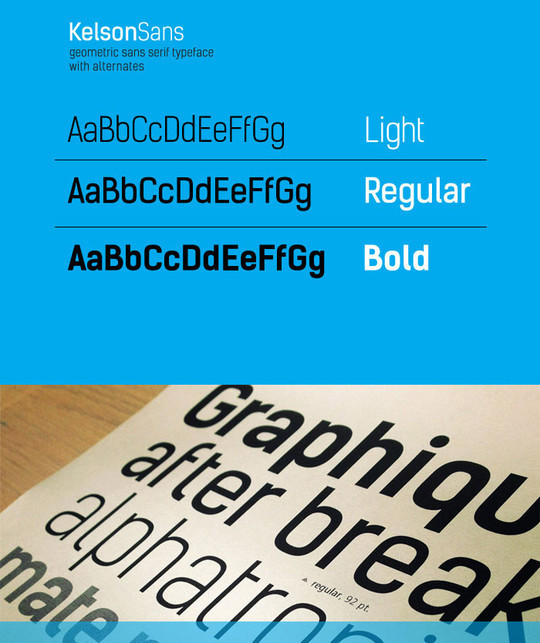 20 Excellent Yet Free Fonts For Designers 6