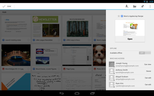9 Essential Apps For Your Android Tablets 5