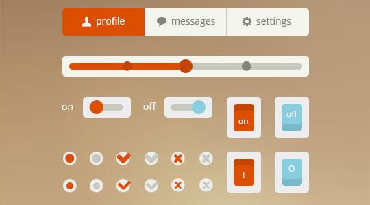 50 Free Flat UI Kits For User Interface Designers 40