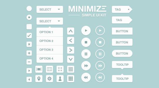 50 Free Flat UI Kits For User Interface Designers 43