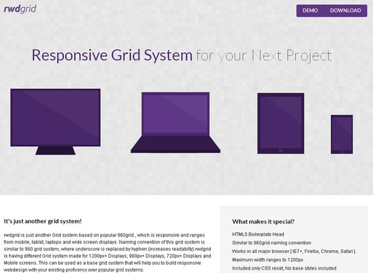 44 Flexible Grid Tools For Responsive Websites 15