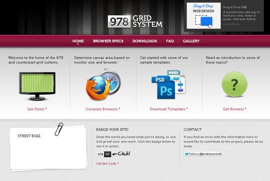 44 Flexible Grid Tools For Responsive Websites 26