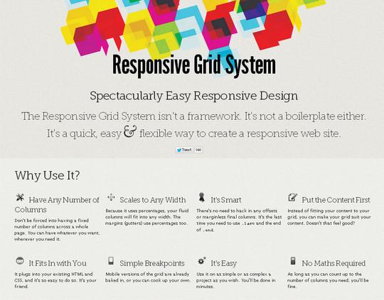 44 Flexible Grid Tools For Responsive Websites 28