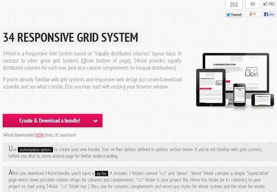 44 Flexible Grid Tools For Responsive Websites 31