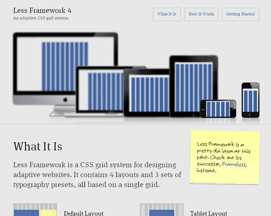 44 Flexible Grid Tools For Responsive Websites 33