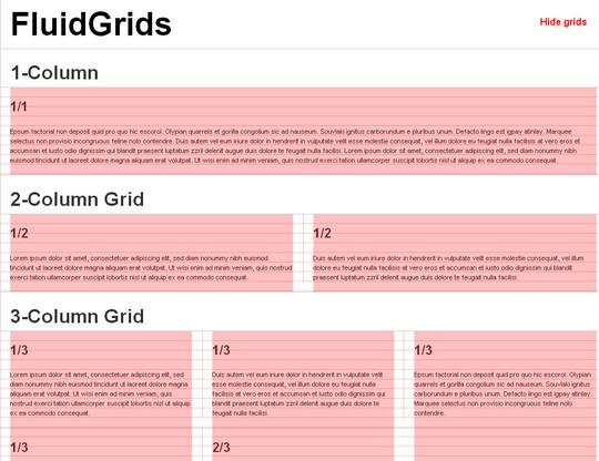 44 Flexible Grid Tools For Responsive Websites 34