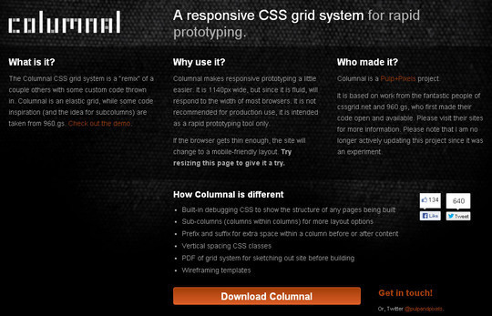 44 Flexible Grid Tools For Responsive Websites 5