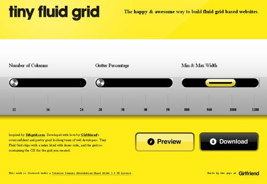 44 Flexible Grid Tools For Responsive Websites 37