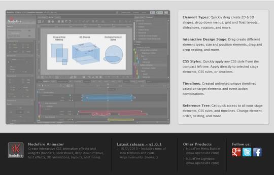 10 Useful Html5 Animation Tools 11