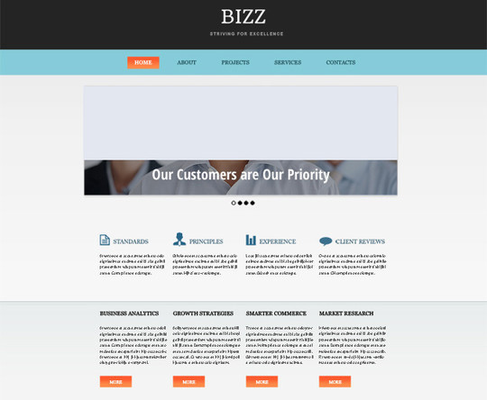 Elegant Yet Free HTML5 Web Templates And Layouts 19