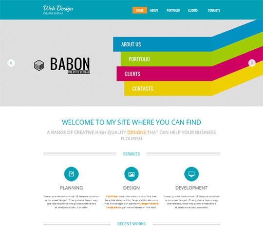 Elegant Yet Free HTML5 Web Templates And Layouts 13