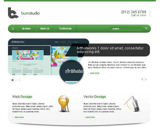 Elegant Yet Free HTML5 Web Templates And Layouts 10