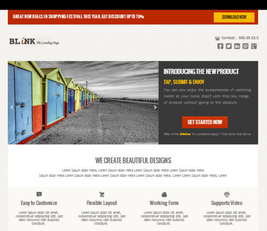 Elegant Yet Free HTML5 Web Templates And Layouts 3