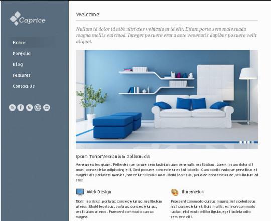 Elegant Yet Free HTML5 Web Templates And Layouts 17