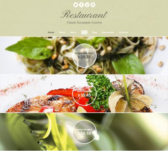 Elegant Yet Free HTML5 Web Templates And Layouts 2