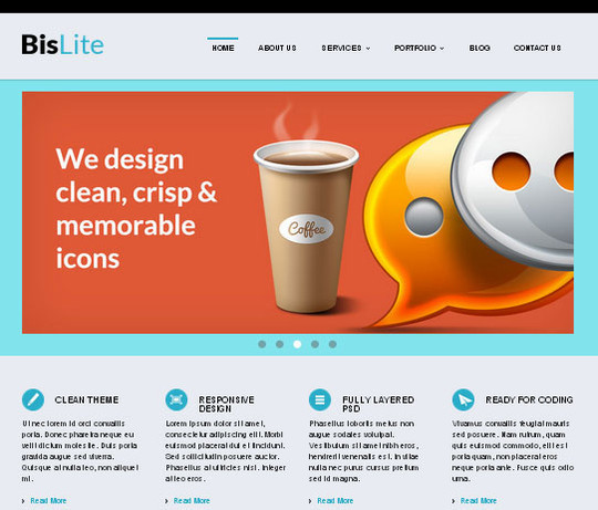 Elegant Yet Free HTML5 Web Templates And Layouts 6