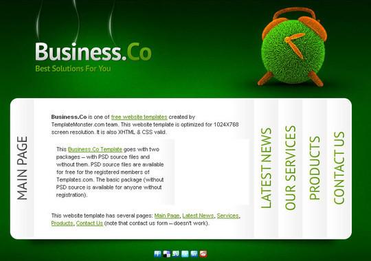Elegant Yet Free HTML5 Web Templates And Layouts 26