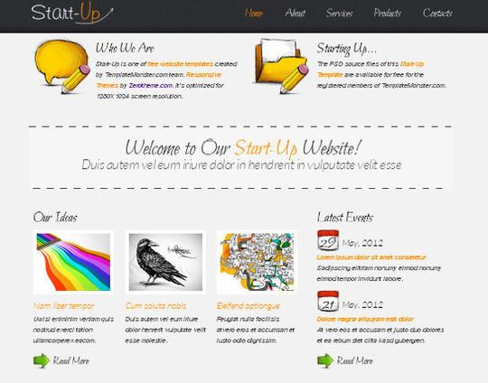 Elegant Yet Free HTML5 Web Templates And Layouts 29