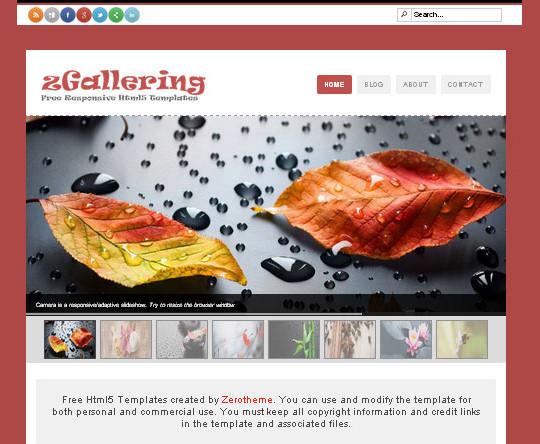 Elegant Yet Free HTML5 Web Templates And Layouts 34