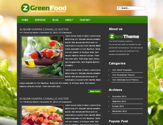 Elegant Yet Free HTML5 Web Templates And Layouts 35
