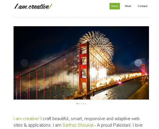 Elegant Yet Free HTML5 Web Templates And Layouts 36