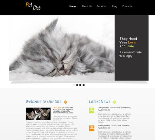 Elegant Yet Free HTML5 Web Templates And Layouts 37