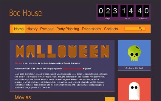 Elegant Yet Free HTML5 Web Templates And Layouts 9