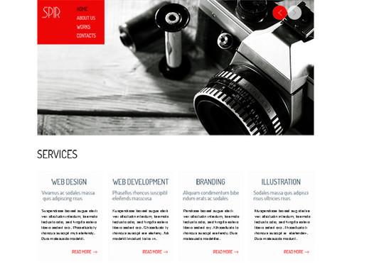 Elegant Yet Free HTML5 Web Templates And Layouts 11