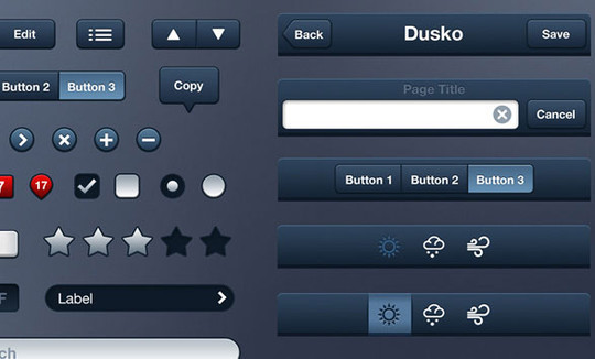 14 Free PSD Resources For Designing iPhone Apps 5