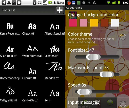13 Amazing Typography Apps For Your Smartphone 4