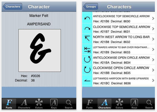 13 Amazing Typography Apps For Your Smartphone 6