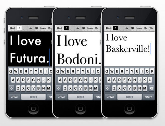 13 Amazing Typography Apps For Your Smartphone 7