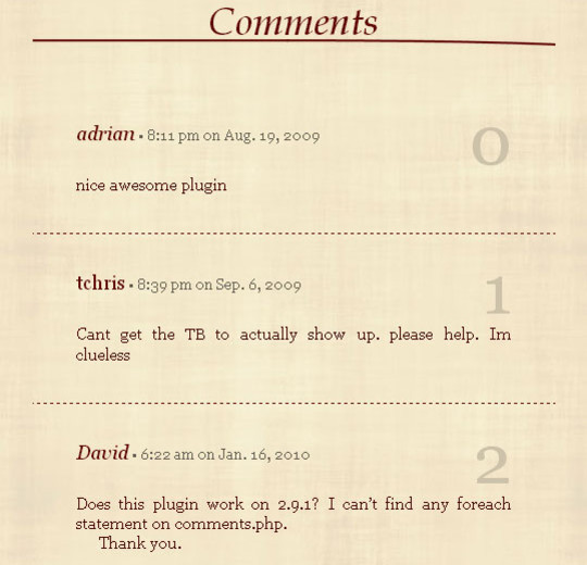 40 WordPress Plugins To Improve Comment Section 12