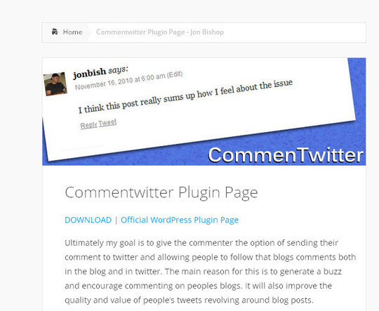 40 WordPress Plugins To Improve Comment Section 7