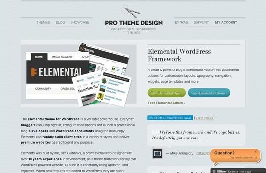 12 Useful Free Html5 Wordpress Framework 11