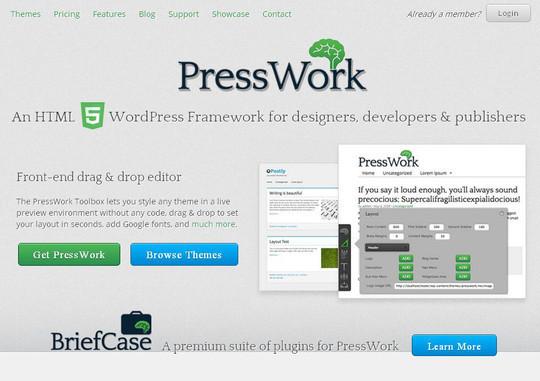 12 Useful Free Html5 Wordpress Framework 6