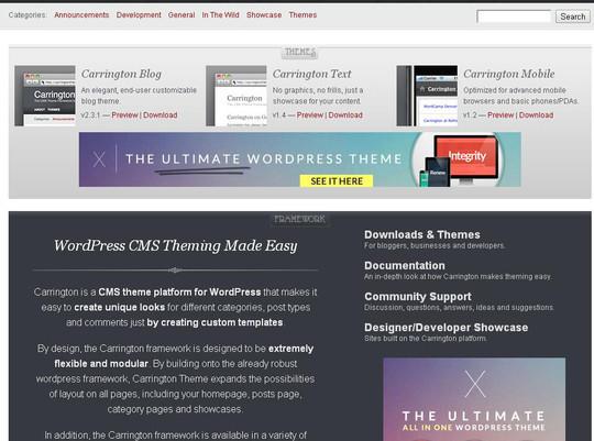 12 Useful Free Html5 Wordpress Framework 8