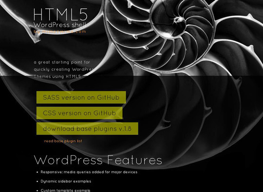12 Useful Free Html5 Wordpress Framework 9
