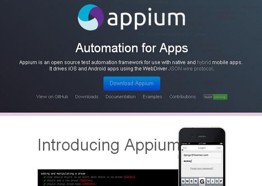 7 Free Mobile App Testing Framework 2