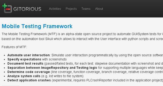 7 Free Mobile App Testing Framework 3
