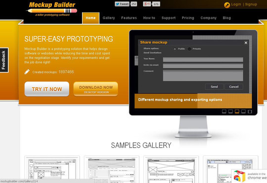 42 Mockup And Wireframing Tools For Developers 21