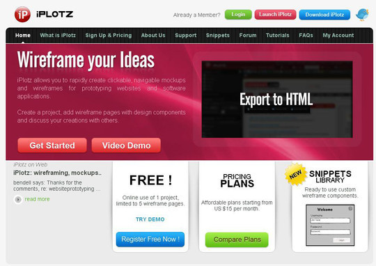 42 Mockup And Wireframing Tools For Developers 9